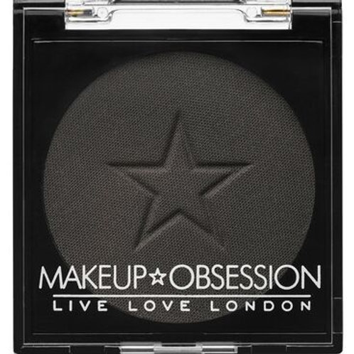 Makeup Obsession Eyeshadow- E126 Midnight Black