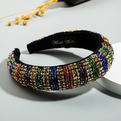 Bling Bling Multi-colour Headband