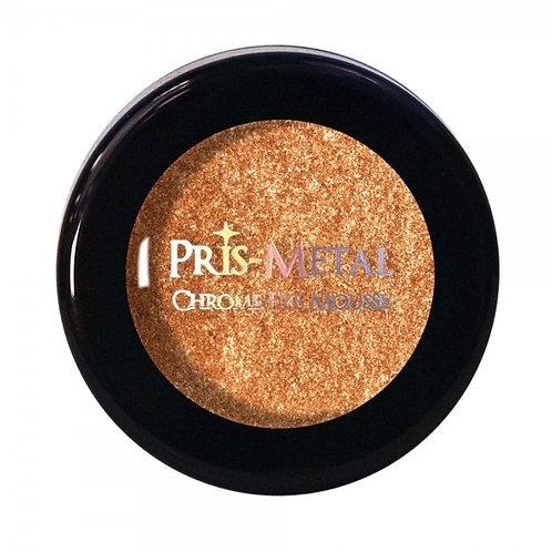 JCat Beauty Pris-Metal Chrome Eye Mousse- Blinding Heat