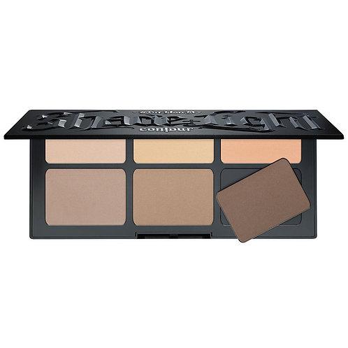 KVD Beauty Shade + Light Refillable Face Contour Palette