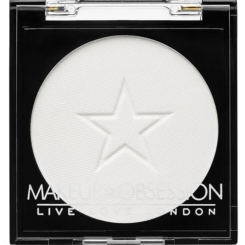 Makeup Obsession Eyeshadow- E105 White Out
