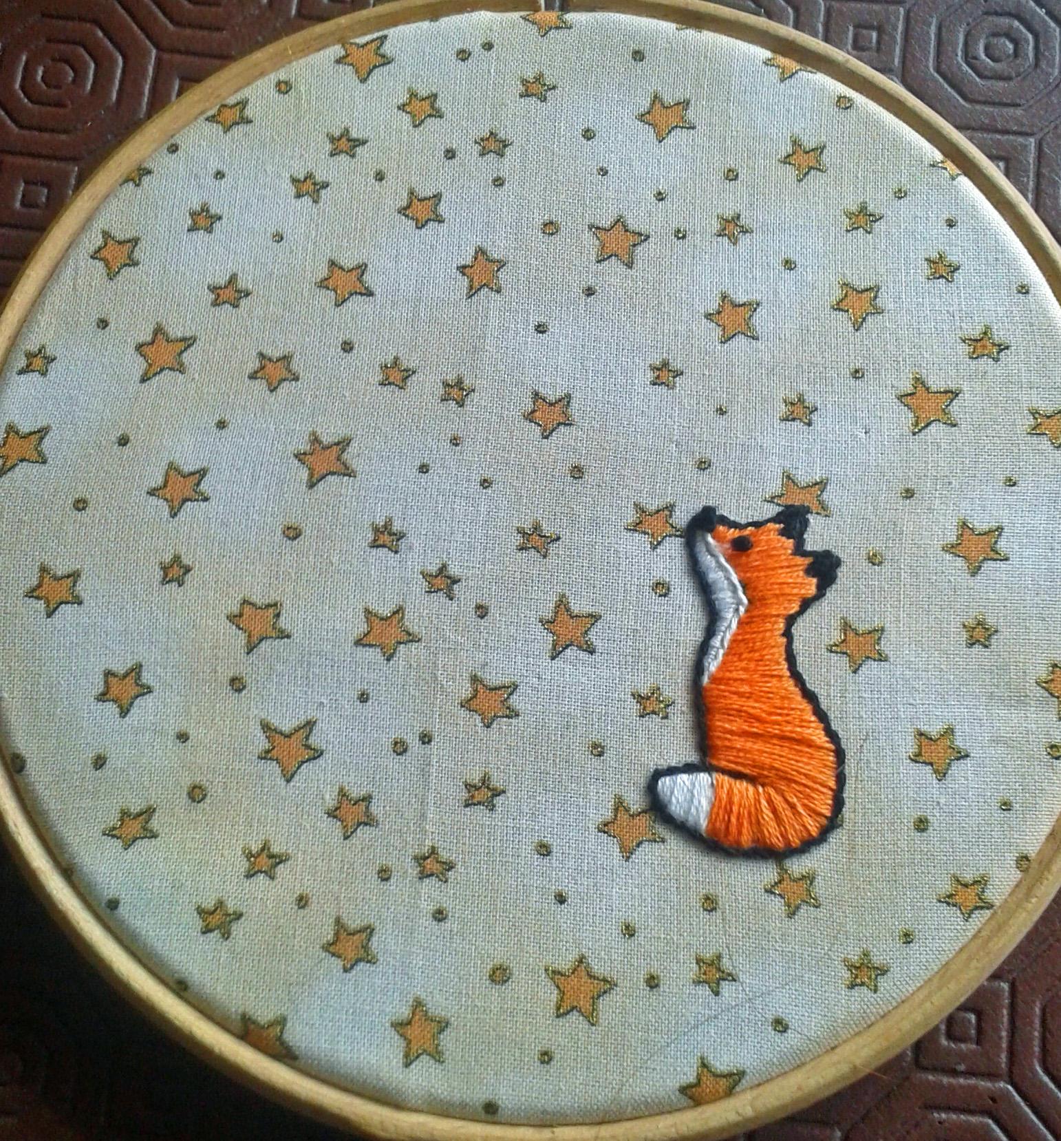 2015-07-17 Fox hoop art