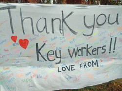 thank you key owrkers