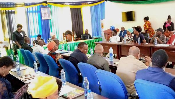 Kikao cha kwanza cha baraza la Madiwani wa halmasauri ya mji Kibaha.