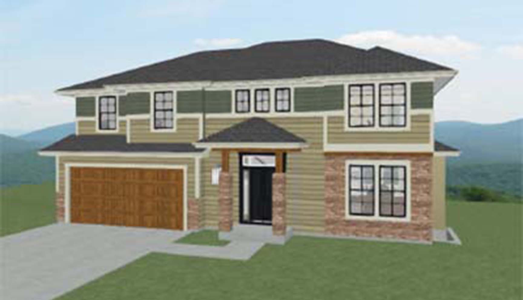 The Orlando Front Elevation