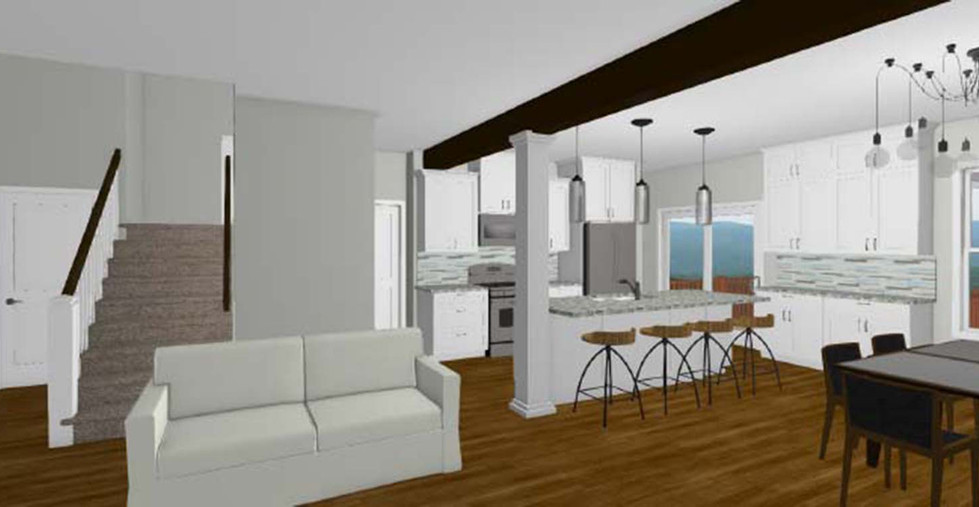 The Orlando Kitchen, Living and Dining