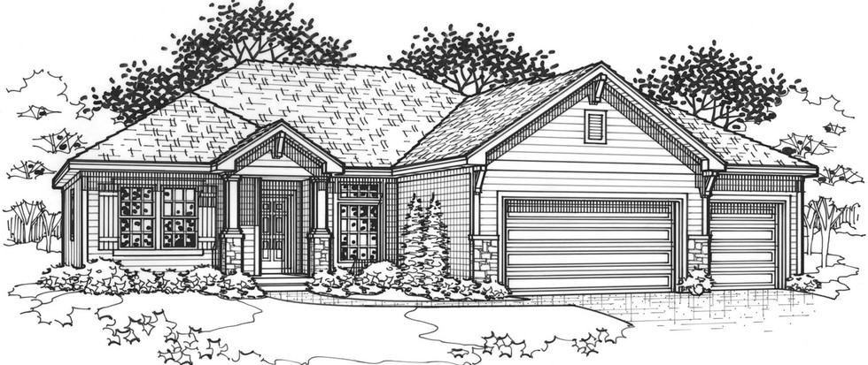 The Cottonwood Traditional Elevation