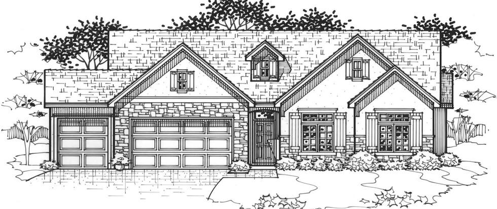The Cedarwood Flex Cottage Elevation