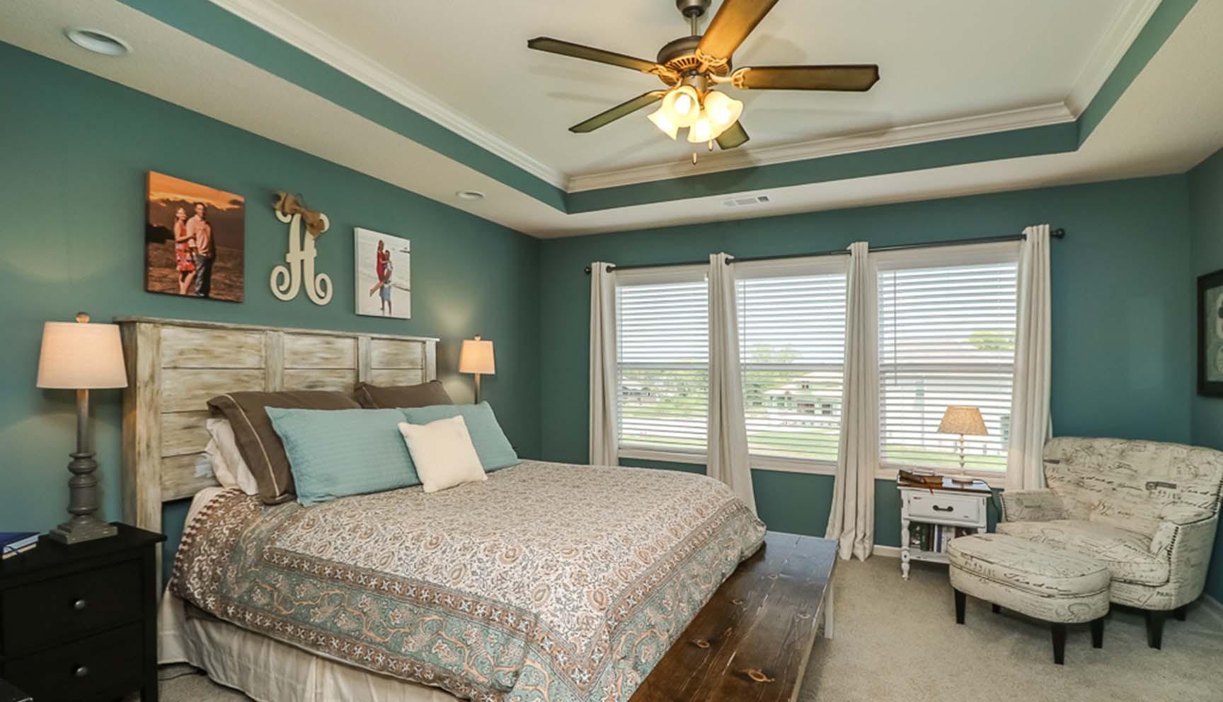 The Birchwood 2 Master Bedroom