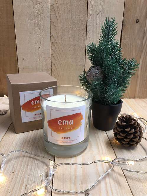 EMA ORGANIC CANDLE 30CL ZEST