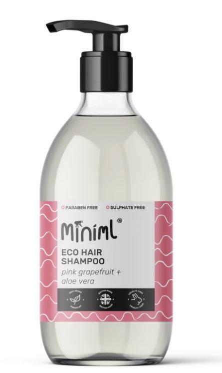 Hair Shampoo - Pink Grapefruit + Aloe Vera, with pump