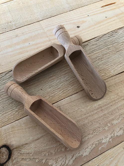 Wooden Scoop - 14cm