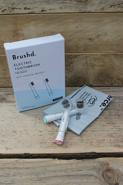 RE-CYCLABLE ELECTRIC TOOTHBRUSH HEADS
