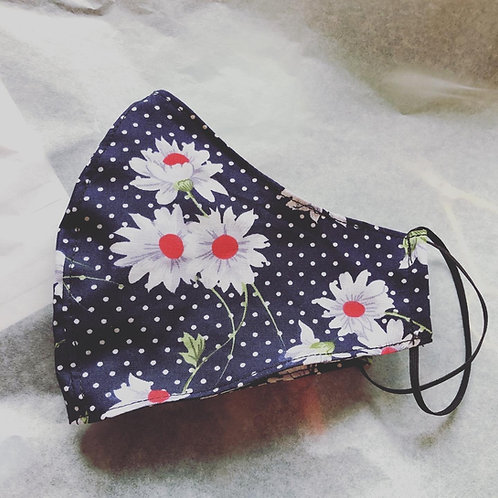 RE-USEABLE FABRIC MASK