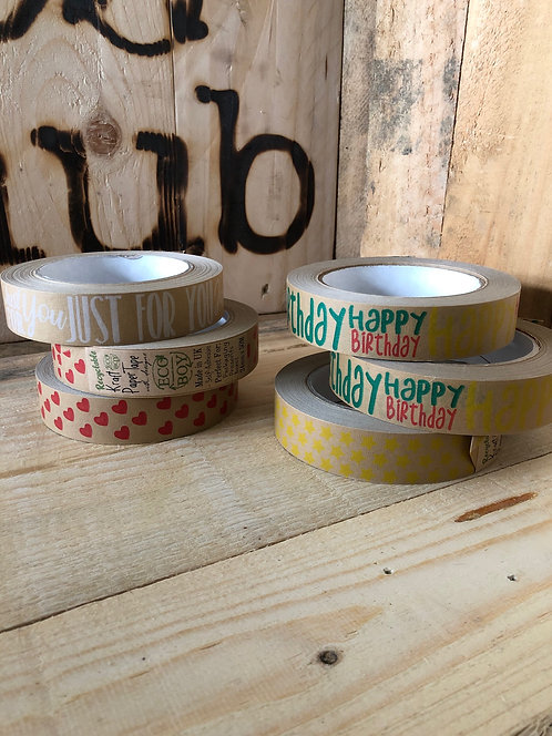 PATTERNED PAPER TAPE