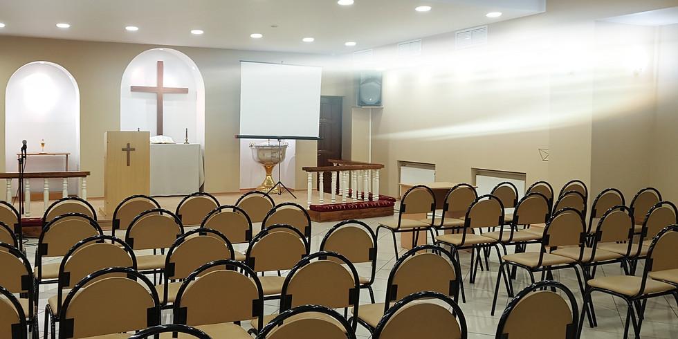 Воскресное Богослужение в 11.00