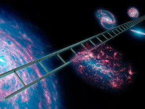 The cosmic distance ladder and the expanding universe
