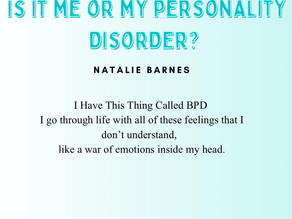 Is It Me Or My Personality Disorder?