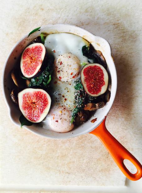 Ontbijt 1-pan ei-gerecht