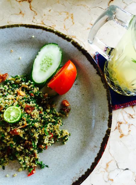 Bali Spiced Quinoa salad