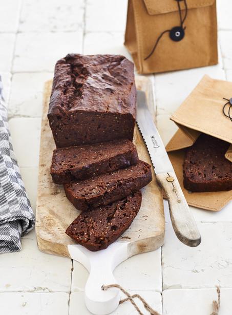 Bananen chocolade brood - bijna net zo lekker als een brownie!