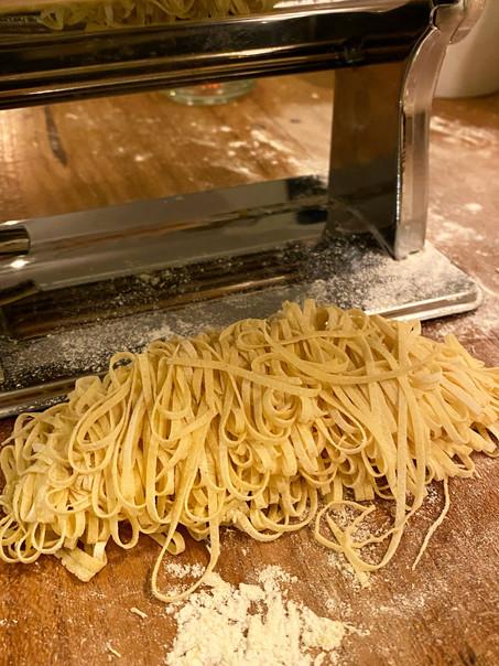 Zelf pasta maken - homemade pasta - vegan