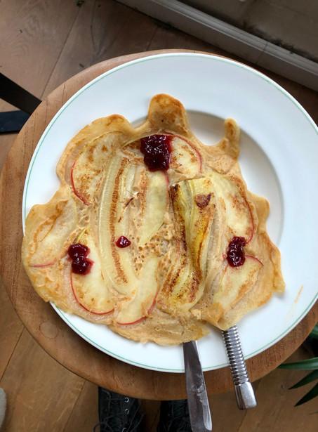 Vegan pannenkoeken - Sunday morning treat to enjoy it!