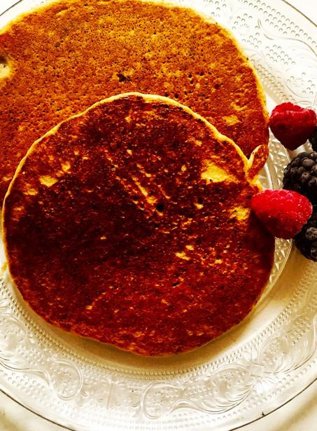 Banaan-quinoa pancakes