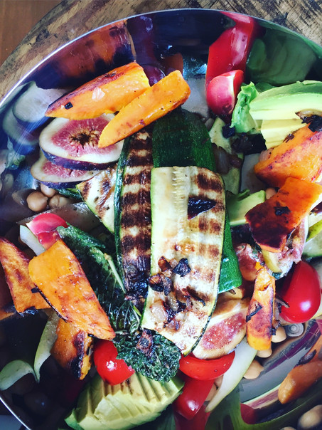 Roasted veggies salade