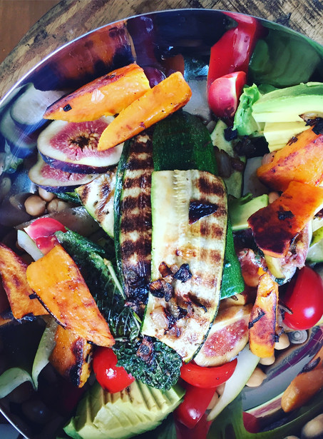 Roasted veggies salade