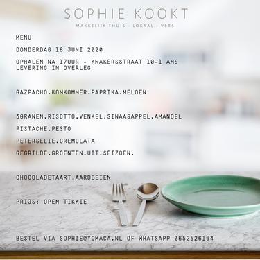 Sophie Kookt - voor jou