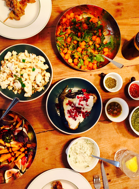 Jerusalem food: bijgerecht: Pittige wortel salade