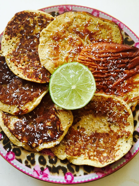 Banana - Lemon pancake