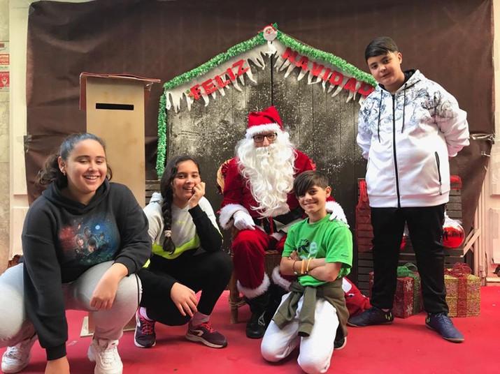 Visita Papá Noel
