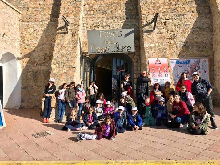 Excursión a Busot y Cuevas de Canelobre.