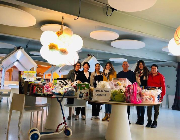 Mil gracias Club Rotary de Orihuela