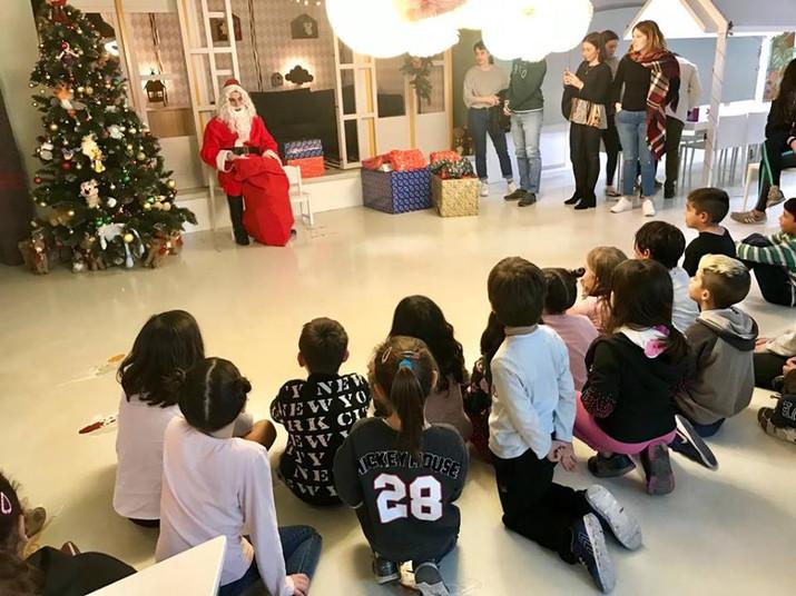 ¡Papa Noel en el Abrazo!