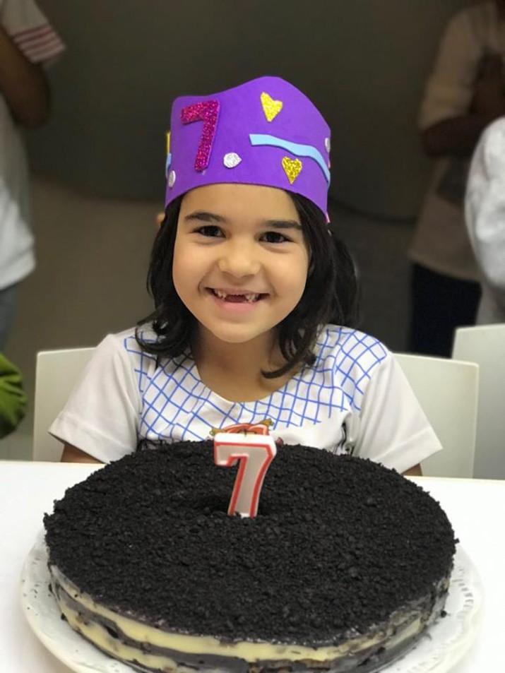 Cumpleaños de Leyre.