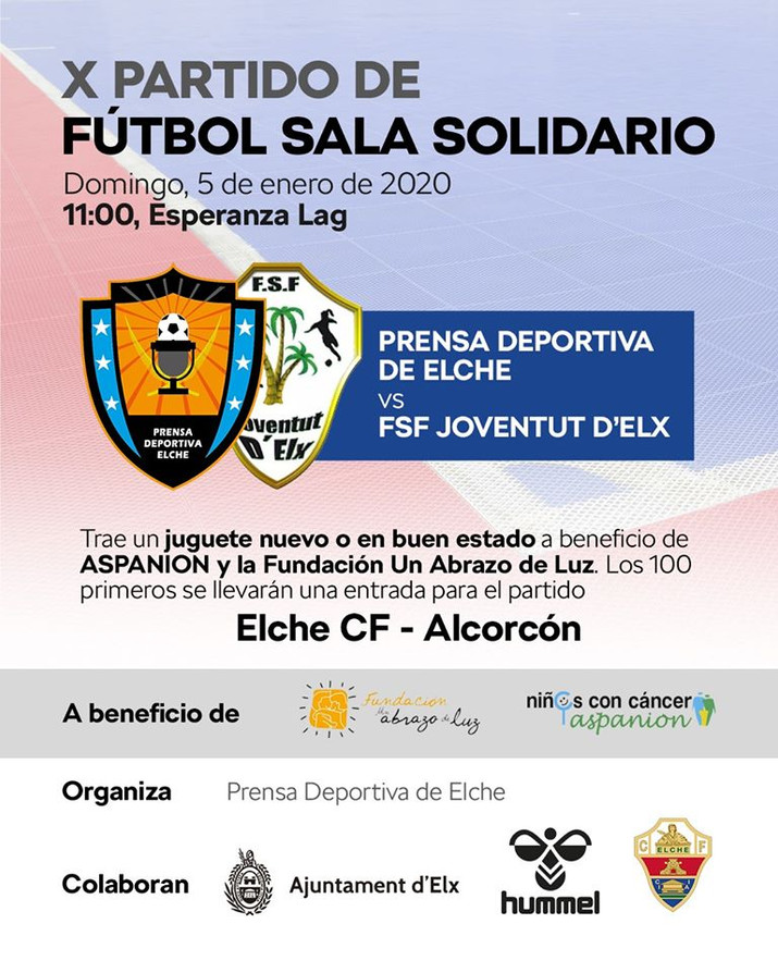 Partido de Fútbol Sala Solidario