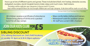 Children's Half-Term Activities
