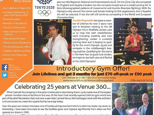 October Newsletter out now!