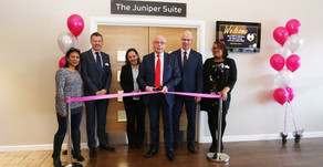 The Juniper Suite now officially open!