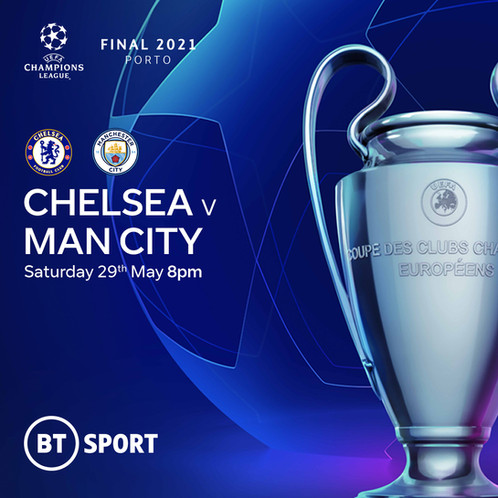 Champions League Final - Join us and watch on our Big Screen!