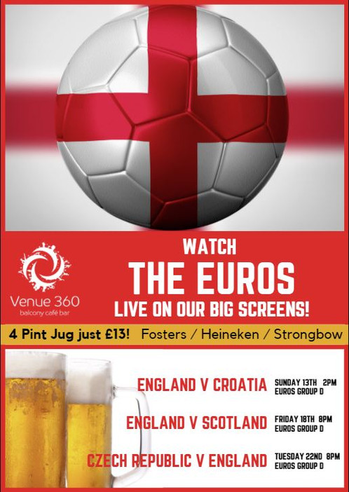 Watch the Euros in style this summer!