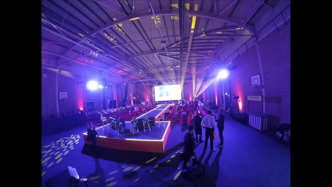 Venue 360 Sports Hall - EasyJet conference