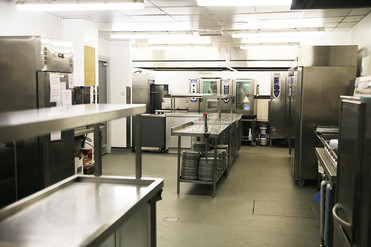 Riverside Suite kitchen - available for self-catering events