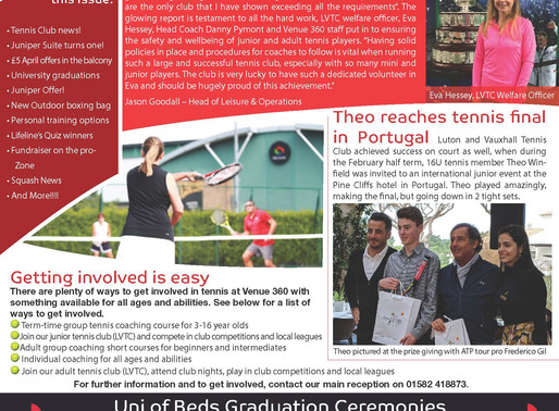 March Newsletter out now!