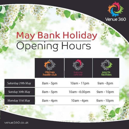 Late May Bank Holiday Opening Hours