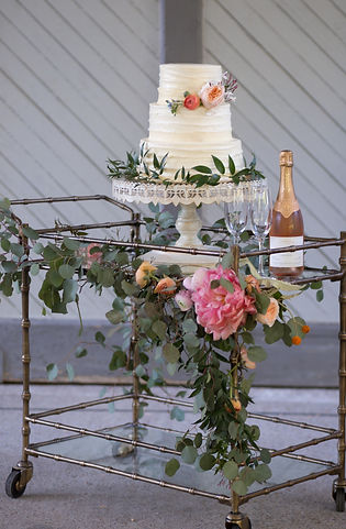 nashville wedding planner, event planner, wedding cake, christina logan design