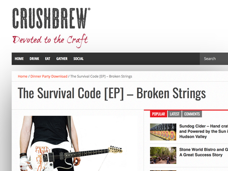 CRUSH BREW – REVIEW BROKEN STRINGS 6/10